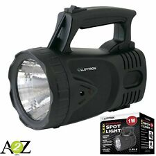 LED Leggero Riflettore WEATHERPROOF EXTRA LUMINOSO 1W LED Beam Lloytron NUOVO