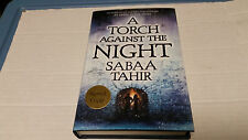 A Torch Against the Night by Sabaa Tahir (2016, Hardcover) SIGNED 1st/1st