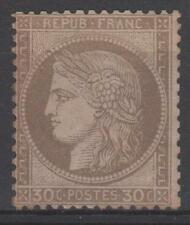 """FRANCE STAMP TIMBRE  N° 56 """" CERES 30c  BRUN 1872 """" NEUF x TB A VOIR M934"""