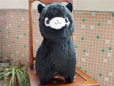 New Huge Kawaii Black ALPACA Llama Cute Plush Alpacasso Arpakasso Toy Gift