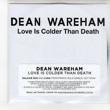 (EN846) Dean Wareham, Love Is Colder Than Death - 2013 DJ CD