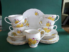 ROSLYN CHINA TEASET FOR 6
