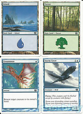 MTG Magic the Gathering TCG 8th Edition Unsummon Storm Crow Forest & Island