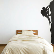 Climber Ascending Vinyl Wall Art Decal for Home Decor / Interior Design / Bed...