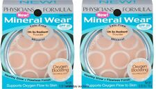Lot of 2 Physicians Formula Mineral Wear Talc-Free Powder Creamy Natural 6213