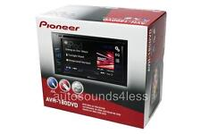 "NEW Pioneer Double Din AVH-180DVD DVD/MP3/CD Player 6.2"" Touchscreen AUX USB"