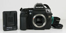 Olympus EVOLT E-3 10,1 MP Digitalkamera Schwarz Gehäuse Body 20610 Auslösungen