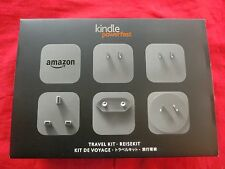 Amazon Kindle PowerFast Travelkit Reiseset AC-Adattatore Micro-USB Alimentatore 1,8a,