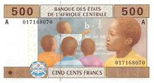 Central African States (A) Gabon 500 Francs 2002 Pn 406 Aa.1 Unc
