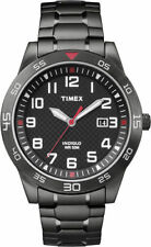 Timex TW2P61600, Men's Black Expansion Band Watch, Date, Indiglo, TW2P616009J