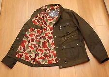 XL BNWT Barbour X WHITE MOUNTAINEERING CUSK WAX JACKET , XL, READ SIZE INFO !