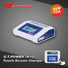 G.T.POWER T610 Touch Screen 200W LiPo LiFe Lion Battery Charger Discharger U6B7