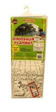 Colorea Tu Propio Prehistoric Dinosaurio Jurásico Beasts Alfombra Juegos incluye