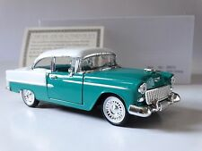 National Motor Museum Mint 1955 Chevy Bel Air Coupe 1:32 Scale Diecast Model Car