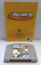 Cartuccia Gioco Game Console N64 NINTENDO 64 Play EUR GIG / F-1 WORLD GRAND PRIX