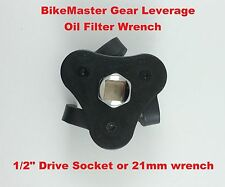 BikeMaster Motorcycle Gear Leverage Oil Filter Wrench Honda Removal Tool ATV