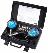 TRANSMISSION ENGIONE OIL High/Low PRESSURE Gauge TESTER KIT Tools Equipment NEW