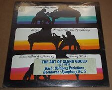 Art of Glenn Gould BEETHOVEN Symphony 5 BACH Goldberg - Columbia S2S 5336 SEALED