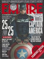 EMPIRE UK MAGAZINE #296 February 2014,CAPTAIN AMERICA,25 for 25 The 2014 Preview