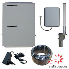 AMPLIFICATORE DUAL BAND SEGNALE CELLULARE GSM E UMTS STELLAHOME ANTENNA OMNI