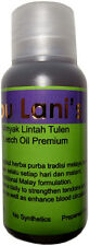 Leech oil Ibu Lani for male genitalia enlargement and strengthening