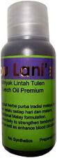 Leech oil Ibu Lani for male genitalia enlargement and strengthening