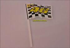 1:12 Bandera Flag Valentino Rossi 46 Finish no minichamps Very RARE NEW!!!