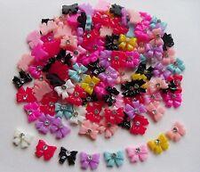 "20pcs x ""Bow-Tie Bows Mix N"" 3D Acrylic Rhinestone Nail Art Craft Decoration"