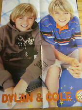 Dylan and Cole Sprouse, Good Charlotte, Four Page Foldout Poster