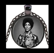 NEW - PRINCE MUSIC ARTIST FORMERLY KNOWN AS PRINCE GLASS OPTIC PENDANT NECKLACE