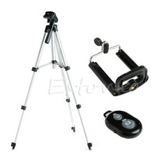 Aluminium Camera Stand Tripod Holder+Remote Bluetooth Control For Iphone 6S 6 5S