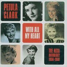 PETULA CLARK WITH ALL MY HEART THE NIXA ANTHOLOGY 2 CD SET NEW SEALED UK IMPORT