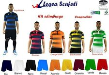 KIT EDIMBURGO LEGEA 8 Kit 128€ CALCIO CALCETTO SPORT TORNEI MUTA DIVISA