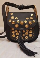 CHLOE embellished Hudson shoulder bag BLACK NEW NWT  SMALL