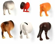 FARM ANIMAL BUTT Kitchen Refrigerator Magnets, Set of 6, by Kikkerland