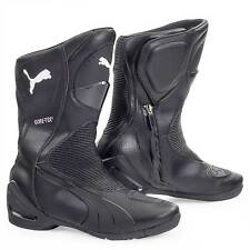 Puma Roadster GTX Sports Touring  Motorcycle Boots Black - Size UK 10.5 / Eur 45