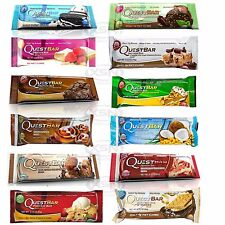 Quest Bar Variety 24-Pack Mix & Match Choose Your Flavors (1 - 3 Day Delivery)