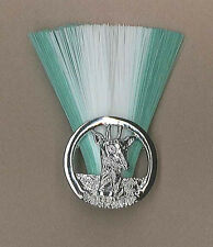 TANZANIA SCOUTS - GROUP SCOUT LEADER MASTER (GWG COLOR) Metal Plume / Hat Patch