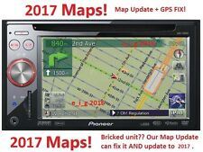 PIONEER AVIC-F900BT / AVIC-F90BT / AVIC-F700BT 2017 MAP UPDATE & GPS REPAIR FIX