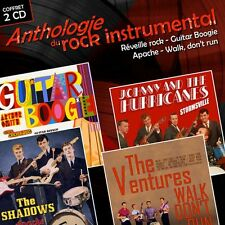 CD Anthology of instrumental rock The Shadows The Ventures Johnny & The Hurrican
