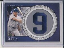 2012 Retired Number Card #RN-RM Roger Maris #9