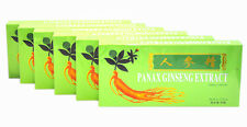 6 Boxes Panax Ginseng Extract Oral Liquid 4500mg Improves Stamina 6x10 Vials