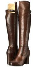 New - $468.00 FRYE Parker Over the Knee Brown Leather Boots Size 11