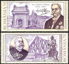 Romania 2009 A. Saligny/Bridges/Architecture/Engineering/Transport 2v set n44835