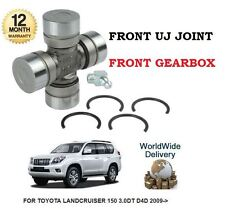 FOR TOYOTA LANDCRUISER 150 3.0DT D4D 2009- NEW FRONT GEARBOX UJ JOINT KIT