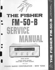 Fisher service manual pour fm-50-b