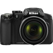 Nikon COOLPIX P510 16.1MP 42x Opt Zoom 3.0 LCD Digital Camera - Black