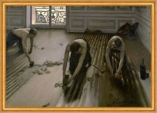 The Floor Planers Gustave Caillebotte Handwerker Berufe Boden Holz B A1 02160