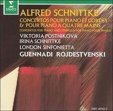 Alfred Schnittke Concertos Pour Piano Et Cordes & Pour Piano A Quatre Mains seal