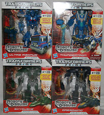 transformers prime RID dreadwing skyquake ultra magnus thundertron voyager